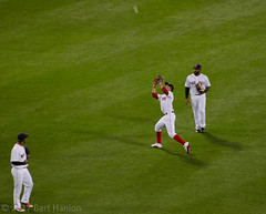Routine out by Mookie Betts (Bart Hanlon) Tags: redsox fenwaypark