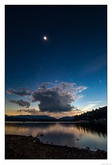 Sunset of Totality (John Cothron) Tags: 15mm 2017solareclipse 5dmarkii 5d2 5dii 5dmkii americansouth canoneos5dmkii carlzeiss chattahoocheeoconeenationalforest cothronphotography distagon1528ze dixie georgia hiawassee johncothron lakechatuge southatlanticstates southernregion thesouth townscounty us usa unitedstatesofamerica zeissdistagont2815mmze afternoonlight calm clearsky cloud color corona environment forest lake lakeshore landscape longexposure mountain nature outdoor outside protected reflection reservoir scenic serene sky starburst summer sun sunstar sunny sunset totality tranquil water img19730170821 ©johncothron2017 sunsetoftotality