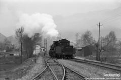 2015/4/3 SY1321 Liancheng (Pocahontas®) Tags: sy1321 steam engine locomotive loco railway railroad rail train bw film 135film kodak