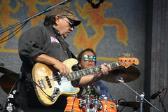 Henry Gray (2017) 04 (KM's Live Music shots) Tags: blues unitedstates louisiana henrygray jazzbass fenderguitar bassguitar guitar neworleansjazzheritagefestival bluestent fairgroundsracecourseneworleans