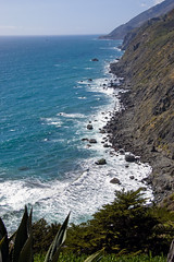 Ragged point (LunarKate) Tags: us usa united states america unitedstates unitedstatesofamerica west coast westcoast cali california central beach beauty beautiful landscape seascape pacific ocean water highway 1 highway1 nikon d40 dslr may 2016 solo travel traveling