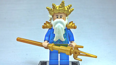 Brick Yourself Custom Lego Figure Poseidon Neptune
