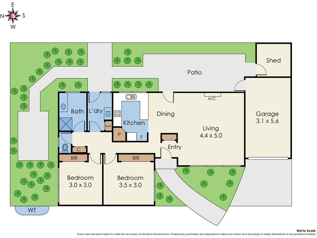 10/163 Centre Dandenong Road floorplan
