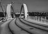 Pont Raymond Barre BW (mahesh.kondwilkar) Tags: avalonaffinity avalonwaterways bridge europe france hdr lyon pontraymondbarre architecture handheld outdoors urban