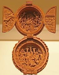 162 Rijksmuseum tentoonstelling Small Wonders gebedsnoten Atelier Adam Dirksz ca 1500 (pdp.osdorp) Tags: amsterdam rijksmuseum museum houtsnijwerk gebednoot tentoonstelling