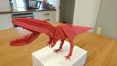 Megalosaurus (Mdanger217) Tags: max danger complex origami megalosaurus dinosaur