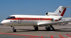 Yak40 | OK-BYJ | AMS | 19900711 (Wally.H) Tags: yak40 yakovlev40 okbyj governmentofczechoslovakia ams eham amsterdam schiphol airport