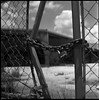 Locking us out (FreezerOfPhotons) Tags: bronicaectl zenzabronicaectl square ultrafineextreme100 xtol mediumformat abandoned abandonedbusiness industrial outofbusiness nearhome