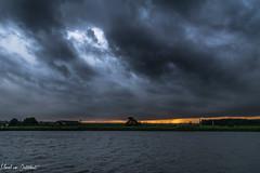 Storm 7 (M van Oosterhout) Tags: storm thunderstorm thunder lightning wind cloud clouds cloudporn sunset alphen aan den rijn dutch holland netherlands nederland groene hart noodweer weather weer rain regen