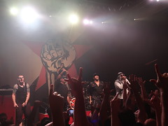Prophets of Rage - Tom Morello (Thomas Baptiste Morello), Chuck D (Carlton Douglas Ridenhour), B-Real (Louis Freese), Brad Wilk (Bradley J. Wilk), Tim Commerford (Timothy Robert Commerford) & DJ Lord (Lord Aswod) (Peter Hutchins) Tags: prophetsofrage prophets rage tom morello chuck d breal brad wilk tim commerford dj lord tommorello chuckd bradwilk timcommerford djlord 930 club publicenemy against machine audioslave public enemy cypress hill rageagainstthemachine cypresshill 930club washington dc usa