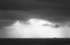 Sailing the Atlantic waves... (JOAO DE BARROS) Tags: joão barros monochrome vessel ship cruiser nautical maritime