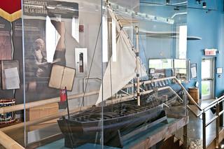 Gunboat Model- Stern View