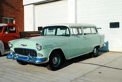 1955 Chevy (Cragin Spring) Tags: illinois il midwest unitedstates usa unitedstatesofamerica car stationwagon chevy chevrolet 1955 hampshire