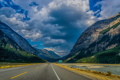 HWY 1, near Field B.C. (Martin Smith - Having the Time of my Life) Tags: rockies mountains martinsmith ©martinsmith nikond750 landscape vanishingpoint field britishcolumbia canada ca hwy1 transcanadahighway