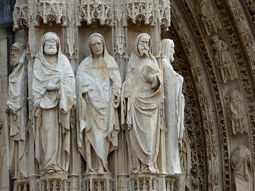 Rouen - Cathedral of Notre Dame, apostles