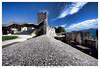 celje il castello 2 (Giorgio Serodine) Tags: celje castello muraglia pietra torre tetti fortificazione cielo mura allaperto canon sigma grandangolo slovenia