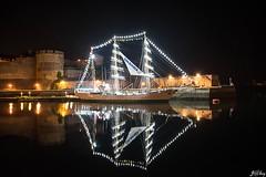 Gloria (Jakezjr) Tags: gloria france colombie bretagne finistere brest bateau voilier reflet nuit