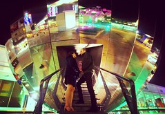 Love is in the air.. (Inga_jann) Tags: love engaged couple nightphotography reflection cute together weddingcomingsoon autumn evening photography bristolphotographer citylights coldoutside warmtogether inlove lovely captures millenium square bristol bristolatnight photoshoot happycouple