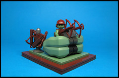 Orc Heavy Crossbow Emplacement (Karf Oohlu) Tags: lego moc minifig crossbow emplacement orc vignette