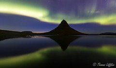 aurora reflection (funtor) Tags: aurora borealis reflection colors light landscape longexposure lake night nature water sky iceland