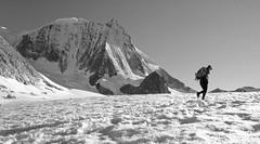 Glacier d'antan (1980) (giorgiorodano46) Tags: agosto1980 august 1980 giorgiorodano fotoanalogica arolla cheilon ghiacciaio glacier valais vallese wallis alpi alpes alps alpen montblancdecheilon suisse schweiz switzerland svizzera mountain montagne hiking alpinism leila
