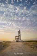 Salinas Cabo de Gata (Degayón) Tags: paisaje pentax pentaxk1 landscape iglesia almeria andalucía spain españa atardecer dusk amazing colours colors cabo de gata
