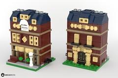 Grand Hotel - Mini Modular Building MOC (BrickJonas) Tags: lego mini modular moc contest competition building buildings creator creation