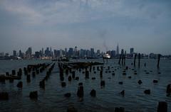 NY Skyline 356 (stevensiegel260) Tags: newyorkskyline manhattanskyline cruiseship pilings dock wharf hudsonriver