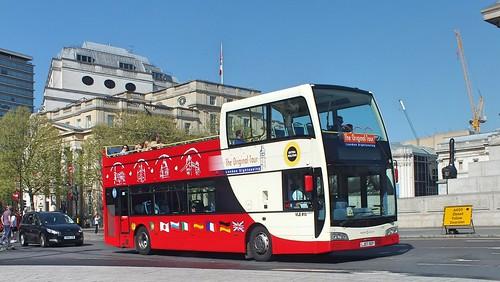 The Original London Sightseeing Tour - VLE613 - LJ07XEP