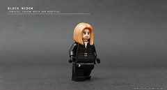 Black Widow (The Ka. Lor Project) Tags: superhero christo dc marvel lego minifigure custom civilwar