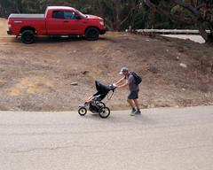 025 Pushing Baby Uphill (saschmitz_earthlink_net) Tags: 2017 california orienteering laoc losangelesorienteeringclub venturacounty ventura