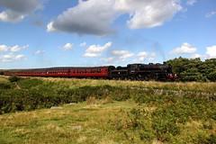 76079 'Pocket Rocket' - NYMR - 2017-08-17 (BillyGoat75) Tags: brstandardclass 76079 pocketrocket steamengine locomotive heritagerailway nymr northyorkshiremoorsrailway mp1934 moorgates goathland northyorkshire