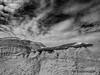 Bisti Badlands-22 (jamesclinich) Tags: bisti badlands danazin wilderness farmington newmexico nm rock desert clouds sky landscape handheld availablelight olympus omd em10 mzuiko1240mmf28pro jamesclinich adobe photoshop topaz denoise detail