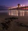 Huntington Beach Pier (RyanLunaPhotography) Tags: 1635 canon hb huntington ocean orangecounty pier beach landscape seascape sunset water