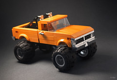 '75 Ford F250 truck (_Tiler) Tags: lego car vehicle ford f250 1975fordtruck 75fordtruck