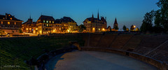 Avenches à l'heure bleue (Switzerland) (christian.rey) Tags: avenches arènes château heurebleue bluehour nuit nigth ville swiss town romaines sony alpha 1635 panorama cityscape suisse schweiz vaud a7rii a7r2 saariysqualitypictures