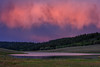 Colorado Sunset (Amy Hudechek Photography) Tags: sunset lake reflection color rain fire pink purple colorado amyhudechek