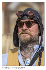 Leather Cap Man (Paul Simpson Photography) Tags: lincoln paulsimpsonphotography imageof imagesof steampunk steampunks model clothes cosplay fancydress leathercap goggles august lincolnshire sonya77 sonyphotography man photosofmen streetphotography sunshine maningoggles manwearinggoggles manwearingsteampunkclothes