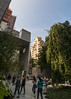 A Public Space (trainmann1) Tags: newyork newyorkcity city nyc summer august 2017 outside exterior outdoors travel moma museumofmodernart garden park publicspace art nature nikon d90 tokina 1118mm amateur handheld trees tree green leaves plants skyscrapers people