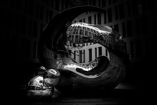 Molekül-Skulptur München