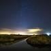 Ciel étoilé dans les marais salants de Noirmoutier