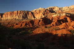 Last light of the day, Capitol Reef (Mike Lyvers) Tags: desert sunset
