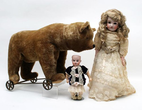 Mohair Bear Ride Toy ($1,680.00)