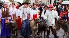 defilé fete renaissance 2017 Les chiens (henri.drouin) Tags: france paysdeloire vendée chiens lherbergement renaissance défilé estivales