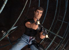 Bang Bang!! (MaxxieJames) Tags: total conquest vittoria belmonte claude action movie man barbie doll mattel collector made move teresa brunette film dravin