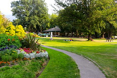 Lake Side Park (Battle Royale1) Tags: nelson bc britishcolumbia kootenay summer town canada lake side park green