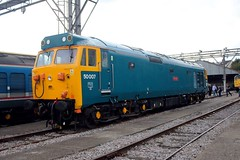 50007 Old Oak Common 2nd September 2017  E1880 (focus- transport) Tags: trains old oak common open day classes 31 47 50 57 180 800 d british railways br oliver cromwell tornado colas gbfr gbrf gwr hst rail operations group railcar diesel steam great western railway high speed train gb freight