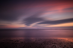 Blank Canvas (johnkaysleftleg) Tags: crimdon sunrise countydurham coast north east england northeast beach sand pebbles 10stopfilter longexposure canon760d sigma1020mmf456exdchsm
