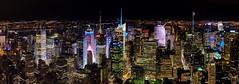NYC desde Empire State Building (PUAROT) Tags: anochecer ciudad city edificio edificios fotografia fotografía foto fuji fujifilm fujix100t iluminación luz luces light newyork nyc nuevayork noche nocturna night puarot photography urbano urban viaje wwwcesarcalvocom x100t travel