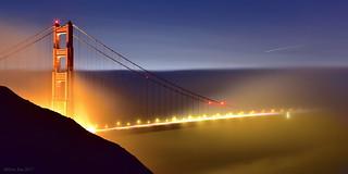 A Silently Fuzzy Night|Golden Gate, San Francisco